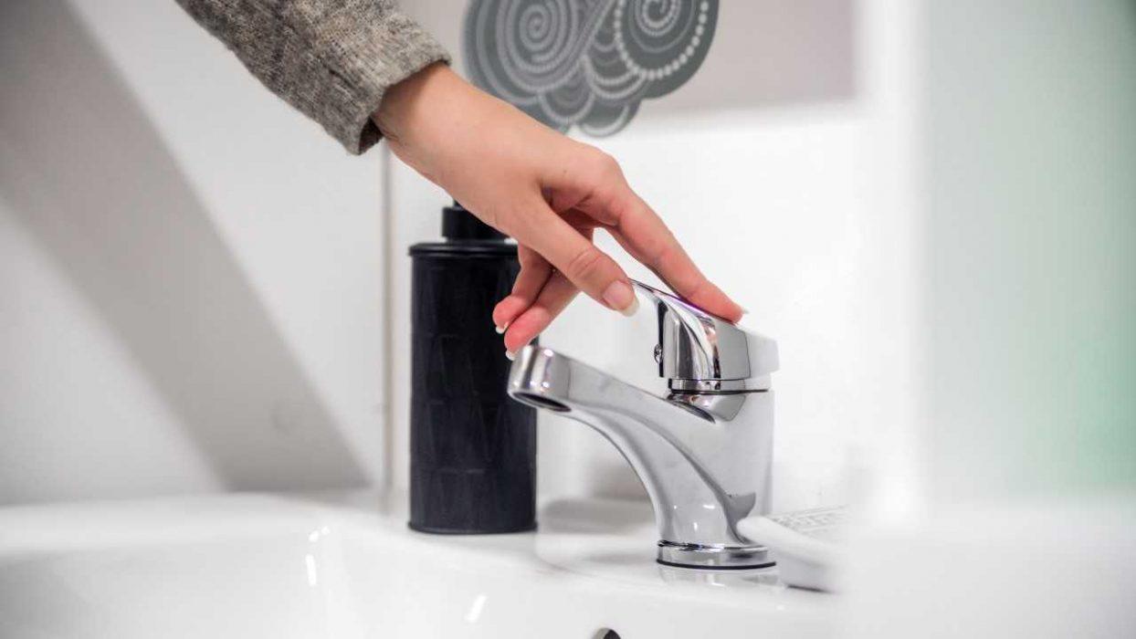 نحوه نصب شیر دستشویی